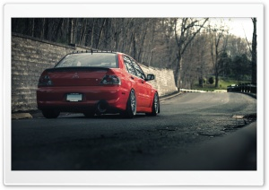 Mitsubishi Lancer Evo HD Wide Wallpaper for Widescreen
