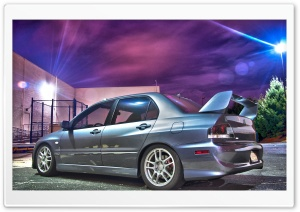 Mitsubishi Lancer HDR HD Wide Wallpaper for Widescreen