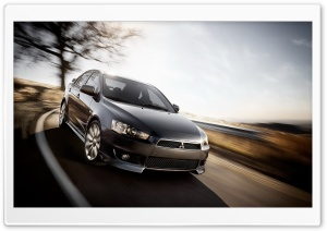 Mitsubishi Speed HD Wide Wallpaper for Widescreen