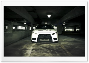 Mitsubishi Underground HD Wide Wallpaper for Widescreen