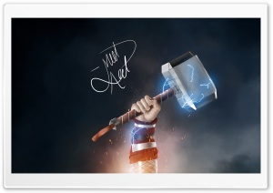 Mjolnir Thor Ultra HD Wallpaper for 4K UHD Widescreen desktop, tablet & smartphone