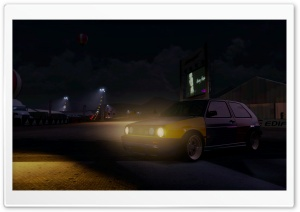 MK2 Golf Harlequin Forza Horizon HD Wide Wallpaper for Widescreen