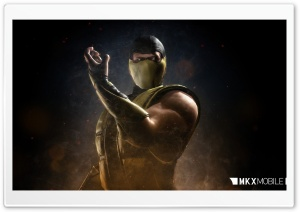 MKX Mobile Scorpion HD Wide Wallpaper for Widescreen