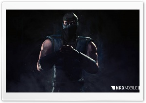 MKX Mobile Sub-Zero HD Wide Wallpaper for Widescreen