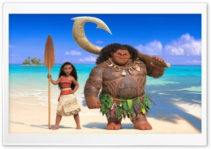 Moana HD Wide Wallpaper for Widescreen