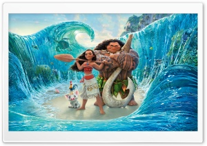 Moana 2016 Ultra HD Wallpaper for 4K UHD Widescreen desktop, tablet & smartphone