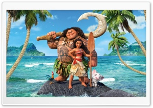 Moana 8K HD Wide Wallpaper for Widescreen