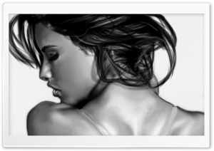 Model Painting Ultra HD Wallpaper for 4K UHD Widescreen desktop, tablet & smartphone