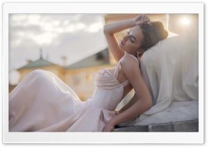 Model Poses Wedding Ultra HD Wallpaper for 4K UHD Widescreen desktop, tablet & smartphone