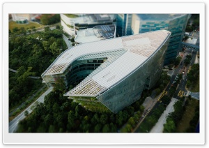 Modern Architecture Building Tilt-shift Photography HD Wide Wallpaper for 4K UHD Widescreen desktop & smartphone