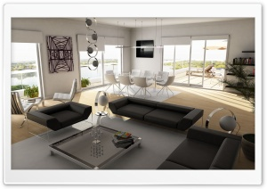 Modern Interior HD Wide Wallpaper for Widescreen