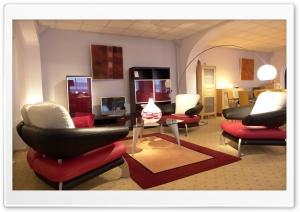 Modern Living Room Ultra HD Wallpaper for 4K UHD Widescreen desktop, tablet & smartphone