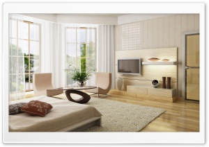 Modern Room HD Wide Wallpaper for Widescreen