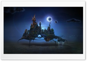 Modern Surrealism HD Wide Wallpaper for Widescreen