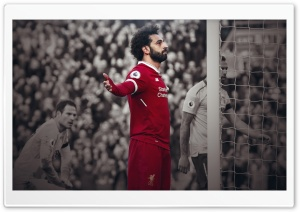 Mohamed Salah - Liverpool HD Wide Wallpaper for 4K UHD Widescreen desktop & smartphone