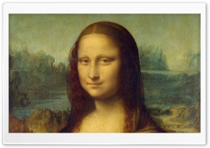 Mona Lisa by Leonardo da Vinci HD Wide Wallpaper for Widescreen