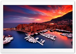 Monaco HD Wide Wallpaper for Widescreen