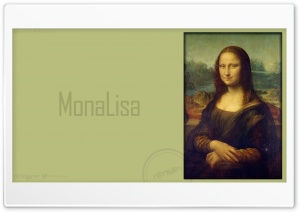 MonaLisa_nithinsuren HD Wide Wallpaper for Widescreen