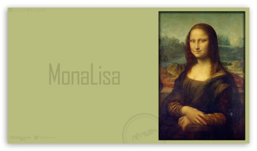 MonaLisa_nithinsuren HD wallpaper for HD 16:9 High Definition WQHD QWXGA 1080p 900p 720p QHD nHD ; Mobile 16:9 - WQHD QWXGA 1080p 900p 720p QHD nHD ;