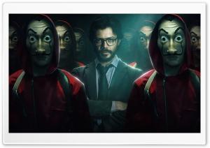 Money Heist Ultra HD Wallpaper for 4K UHD Widescreen desktop, tablet & smartphone