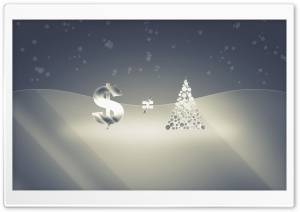 Money Isnt Christmas HD Wide Wallpaper for Widescreen