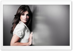 Monica Cruz HD Wide Wallpaper for Widescreen