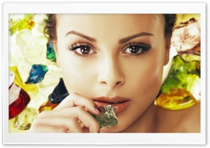Monika Bagarova HD Wide Wallpaper for 4K UHD Widescreen desktop & smartphone
