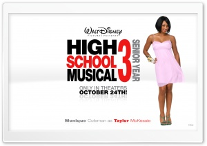 Monique Coleman As Taylor McKessie High School Musical HD Wide Wallpaper for Widescreen