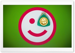 Monocle Smiley Ultra HD Wallpaper for 4K UHD Widescreen desktop, tablet & smartphone