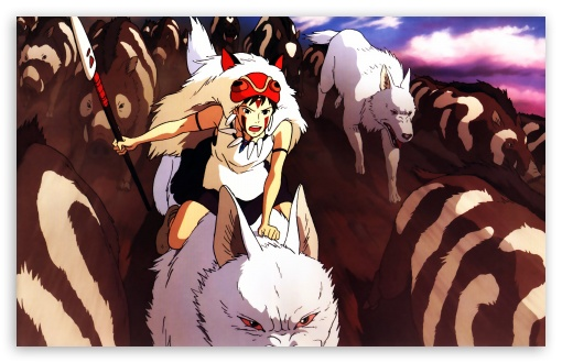 Mononoke Hime HD wallpaper for Wide 16:10 5:3 Widescreen WHXGA WQXGA WUXGA WXGA WGA ; Standard 4:3 5:4 3:2 Fullscreen UXGA XGA SVGA QSXGA SXGA DVGA HVGA HQVGA devices ( Apple PowerBook G4 iPhone 4 3G 3GS iPod Touch ) ; iPad 1/2/Mini ; Mobile 4:3 5:3 3:2 5:4 - UXGA XGA SVGA WGA DVGA HVGA HQVGA devices ( Apple PowerBook G4 iPhone 4 3G 3GS iPod Touch ) QSXGA SXGA ;