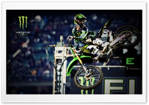 Monster Energy Motocross Ultra HD Wallpaper for 4K UHD Widescreen desktop, tablet & smartphone
