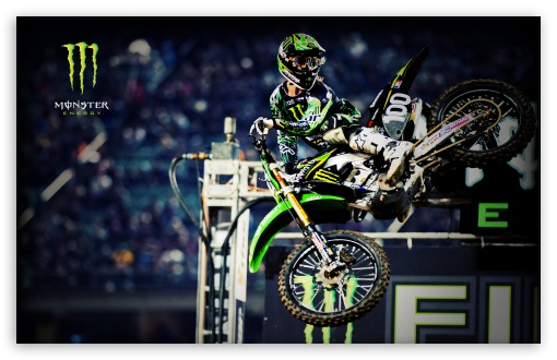 Download Monster Energy Motocross HD Wallpaper