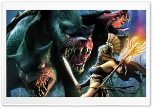 Monster Games 25 HD Wide Wallpaper for Widescreen