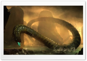 Monster Snake HD Wide Wallpaper for Widescreen