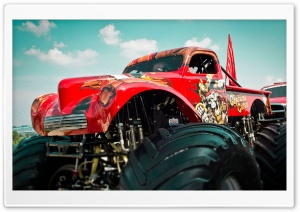 Monster Truck HD Wide Wallpaper for 4K UHD Widescreen desktop & smartphone