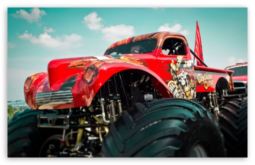 Monster Truck HD wallpaper for Wide 16:10 5:3 Widescreen WHXGA WQXGA WUXGA WXGA WGA ; HD 16:9 High Definition WQHD QWXGA 1080p 900p 720p QHD nHD ; Standard 4:3 5:4 3:2 Fullscreen UXGA XGA SVGA QSXGA SXGA DVGA HVGA HQVGA devices ( Apple PowerBook G4 iPhone 4 3G 3GS iPod Touch ) ; iPad 1/2/Mini ; Mobile 4:3 5:3 3:2 16:9 5:4 - UXGA XGA SVGA WGA DVGA HVGA HQVGA devices ( Apple PowerBook G4 iPhone 4 3G 3GS iPod Touch ) WQHD QWXGA 1080p 900p 720p QHD nHD QSXGA SXGA ;