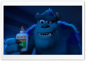 Monster University 2013 Sulley Ultra HD Wallpaper for 4K UHD Widescreen desktop, tablet & smartphone