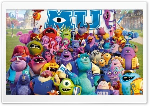 Monsters University HD Wide Wallpaper for Widescreen