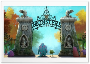 Monsters University (2013) HD Wide Wallpaper for Widescreen