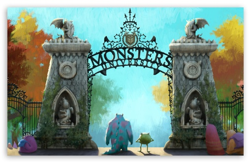 Monsters University (2013) HD wallpaper for Wide 16:10 5:3 Widescreen WHXGA WQXGA WUXGA WXGA WGA ; HD 16:9 High Definition WQHD QWXGA 1080p 900p 720p QHD nHD ; Standard 4:3 5:4 3:2 Fullscreen UXGA XGA SVGA QSXGA SXGA DVGA HVGA HQVGA devices ( Apple PowerBook G4 iPhone 4 3G 3GS iPod Touch ) ; Tablet 1:1 ; iPad 1/2/Mini ; Mobile 4:3 5:3 3:2 16:9 5:4 - UXGA XGA SVGA WGA DVGA HVGA HQVGA devices ( Apple PowerBook G4 iPhone 4 3G 3GS iPod Touch ) WQHD QWXGA 1080p 900p 720p QHD nHD QSXGA SXGA ; Dual 16:10 5:3 16:9 4:3 5:4 WHXGA WQXGA WUXGA WXGA WGA WQHD QWXGA 1080p 900p 720p QHD nHD UXGA XGA SVGA QSXGA SXGA ;