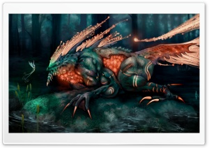 Monstrous Creature HD Wide Wallpaper for Widescreen