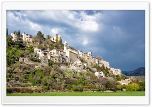 Montbrun les Bains HD Wide Wallpaper for Widescreen