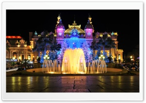 Monte Carlo Casino HD Wide Wallpaper for Widescreen