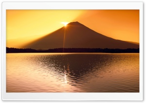 Monte Fuji Japan HD Wide Wallpaper for Widescreen