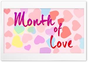 Month of Love Ultra HD Wallpaper for 4K UHD Widescreen desktop, tablet & smartphone