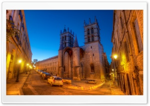 Montpellier France HD Wide Wallpaper for Widescreen