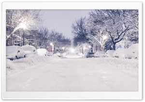 Montreal Winter HD Wide Wallpaper for Widescreen