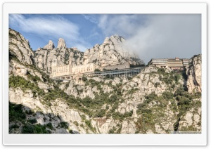 Montserrat Mountain Catalonia Ultra HD Wallpaper for 4K UHD Widescreen desktop, tablet & smartphone
