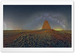 Monument Panorama, Night Time HD Wide Wallpaper for 4K UHD Widescreen desktop & smartphone