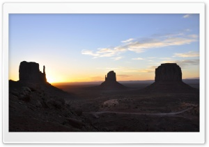 Monument Valley 1 HD Wide Wallpaper for Widescreen